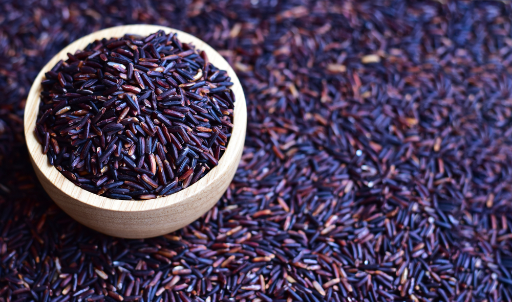 what is purple rice
